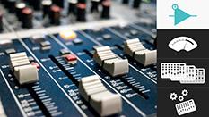 TE-Consolas de mezcla: Flujo de señal básico